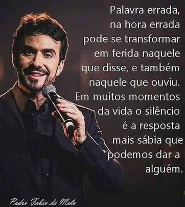 Resultado De Imagem Para Frases Do Padre Fabio De Melo Diversos