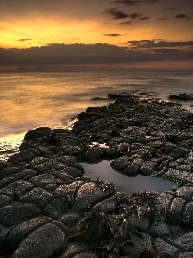 Kilve Beach, Somerset, England