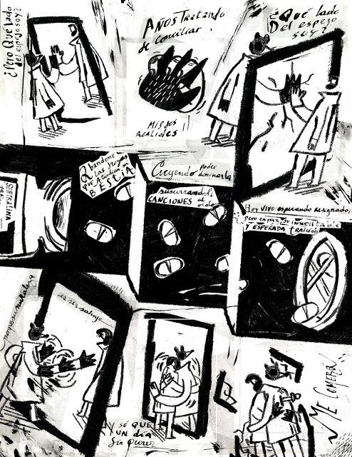 CALVERT: Bestia. Illustration // Comic