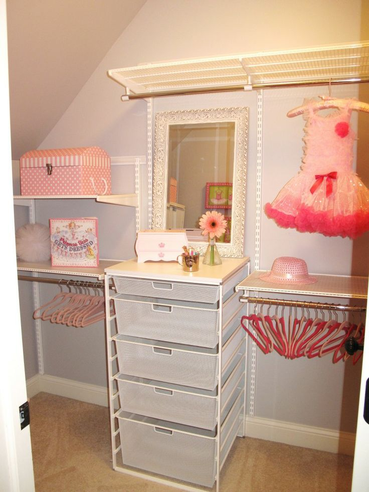 pink and purple princess room   love the child height hangers