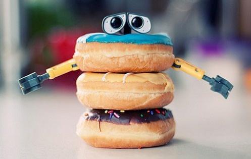 wall-e doughnut!