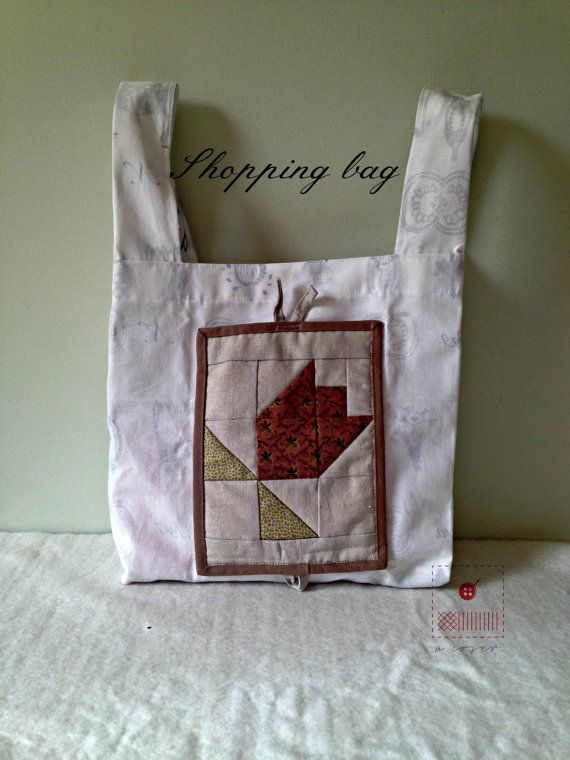 Grocery bag-Shopping bag-Eco-friendly recycled by acoser2014