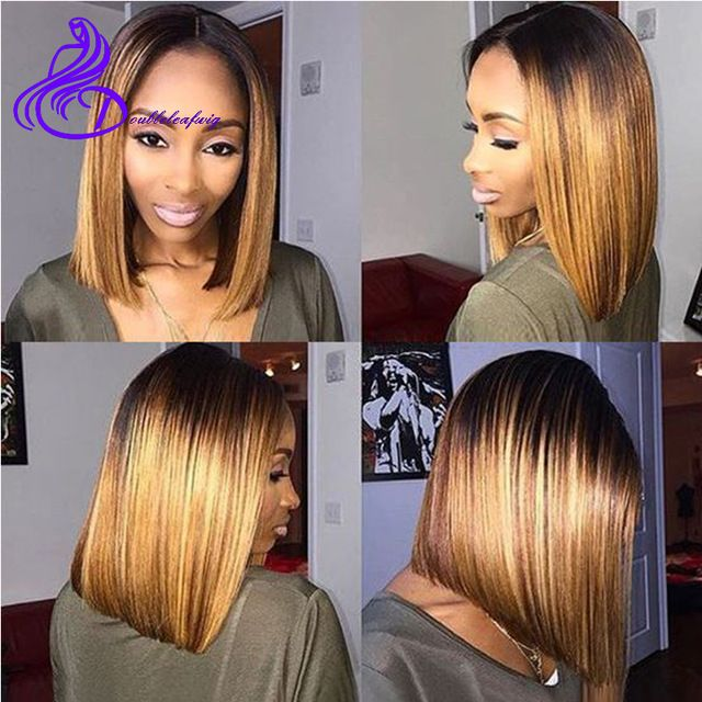 Ombre Bob Sew In Hair Color Ideas And Styles For 2018