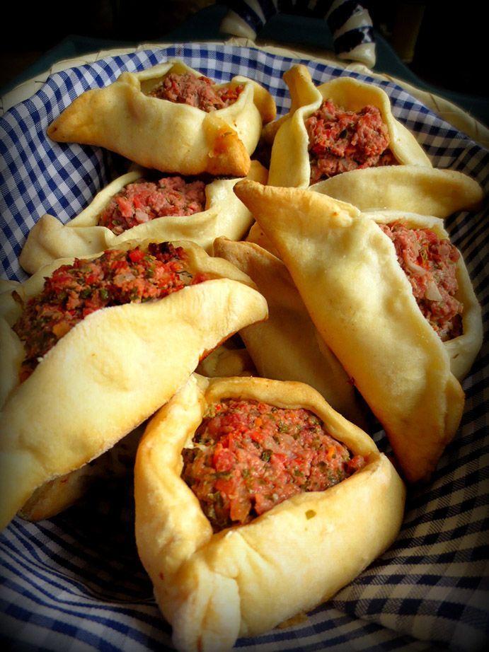Empanadas Arabes comme en Argentine / Empanadas Arabes Argentinas / Empanadas Arabic style