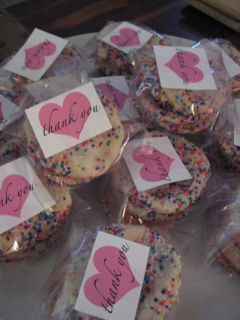 Party Favors for Sprinkle Shower for a Baby Girl! & Blue sprinkles if uts a boy!