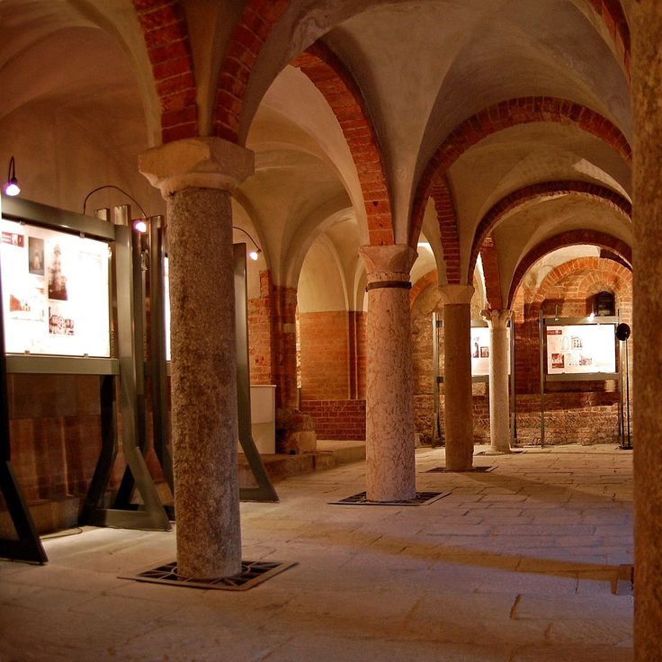 Cripta di S. Giovanni in conca (sx)