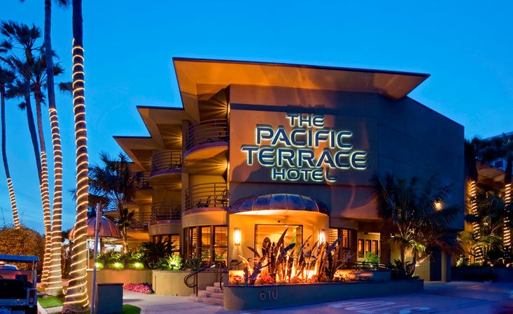 Pacific Terrace Hotel in San Diego, CA. Our honeymoon location!!