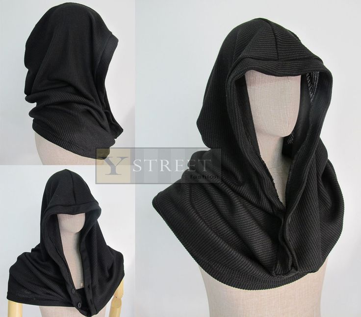 Hoodie Men and Women Scarf and Tops S010 | eBay