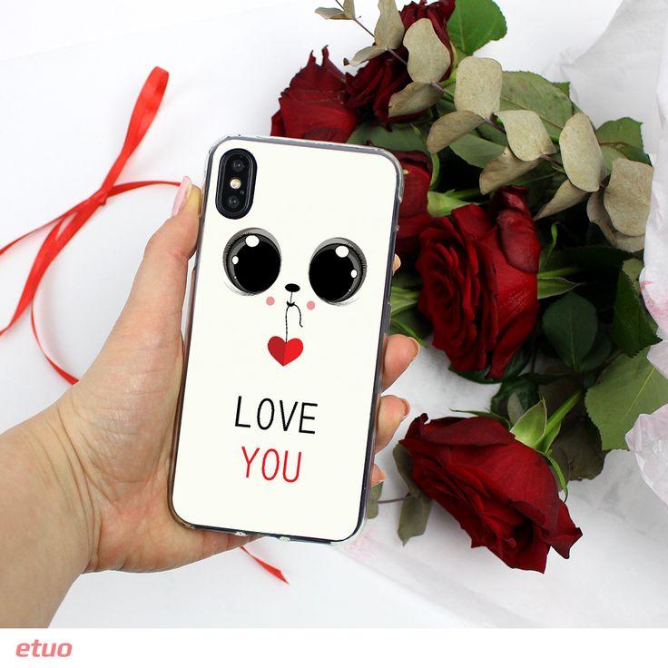 """Słodkie etui na telefon z kolekcji """"Prezent na Walentynki"""" - dostępne na ponad 500 modeli smartfonów:)"""