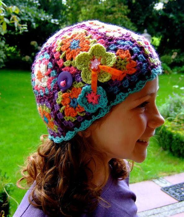 .: Crochet Hat Patterns, Hat Crochet Patterns, Crafts Diy Unique, Gekleurde Mutsen, Crochet Hats Headbands Mittens, Crochet Crafts, Crochet Hats Baby Adult, Caps Hats