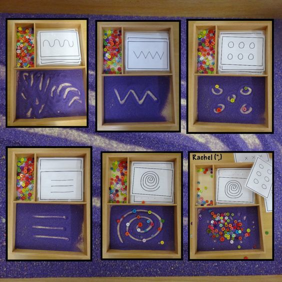 """Patterns in the Montessori Tray (FREE downloadable pattern cards) - from Rachel ("""",)"""