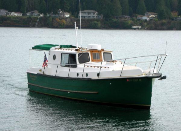 1999 Nimble Wanderer Trawler - ahhhh my dream great loop boat