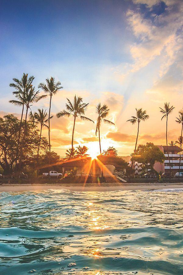 Waterfalls Love Beautiful Sunrise Nature Photography Beautiful Landscapes Beautiful palm tree wallpaper for
