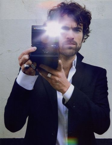 instant french  (Romain Duris with Polaroid SLR 690)