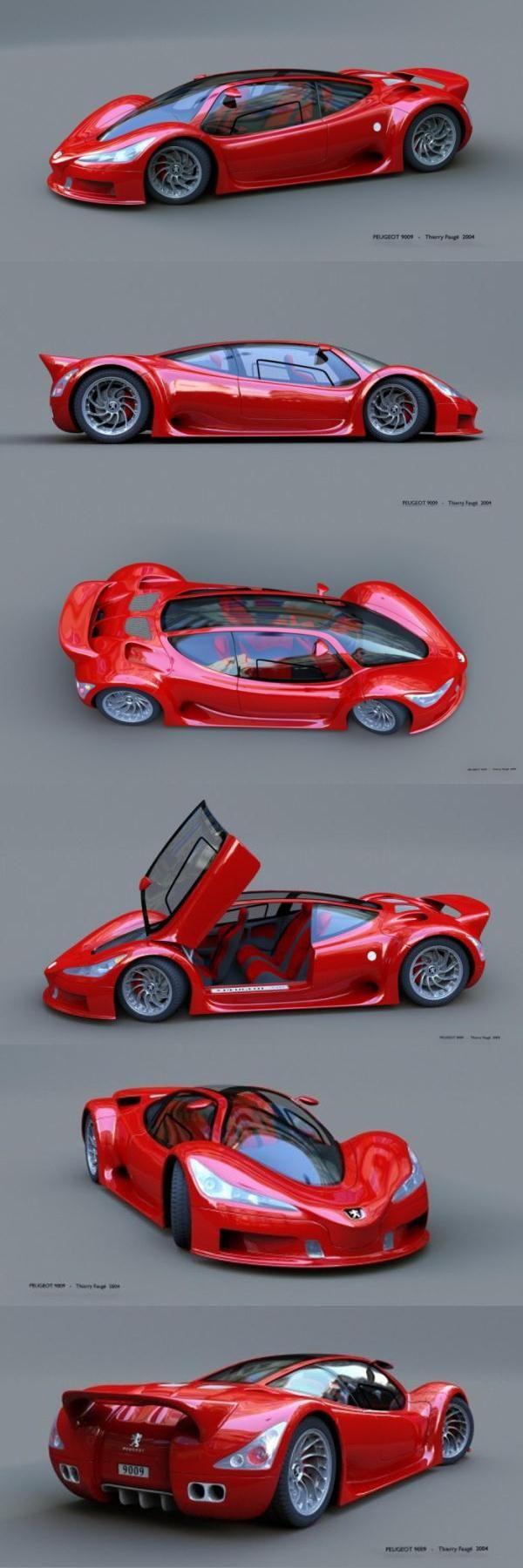 PEUGEOT 9009, Concept car-SR