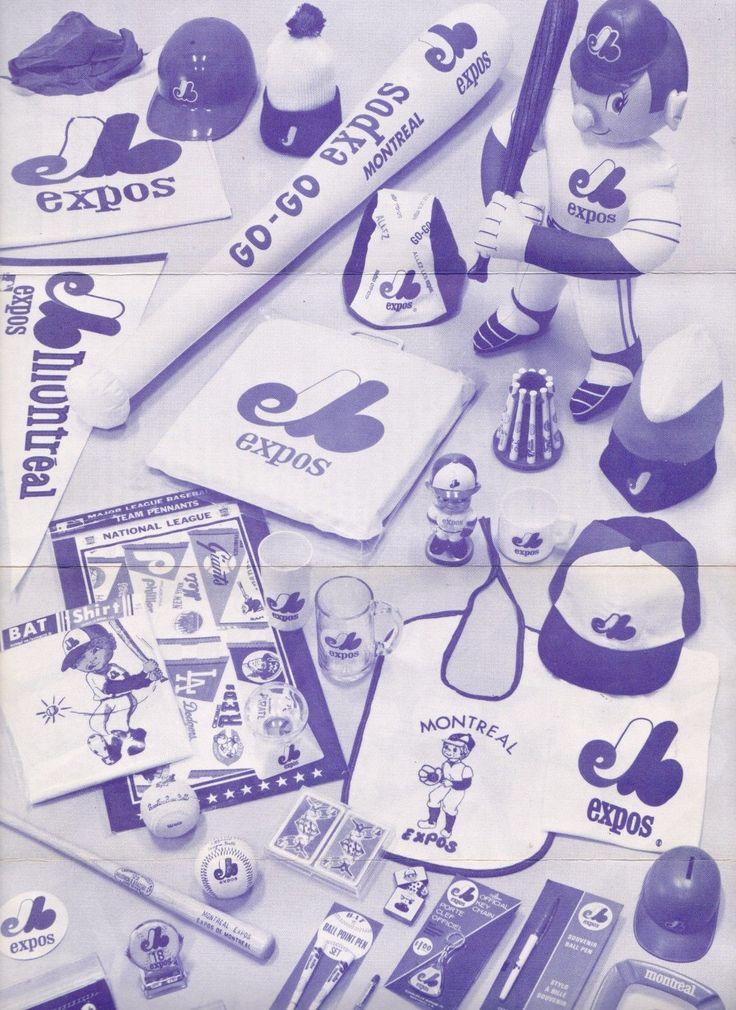 ORIGINAL 1975 MONTREAL EXPOS BASEBALL SOUVENIR BROCHURE FREE SHIPPING IN USA | eBay