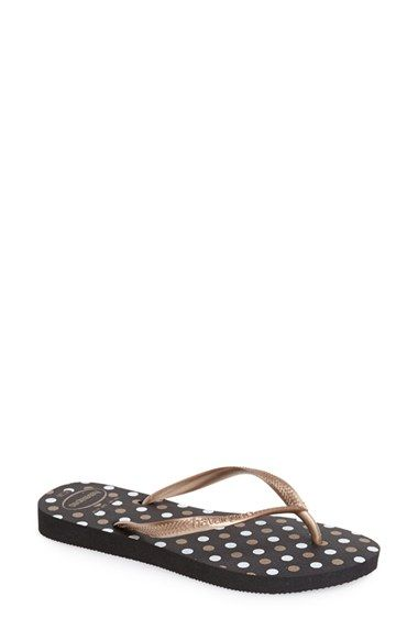 Havaianas 'Slim Fresh' Flip Flop (Women) available at #Nordstrom--ordered these and they are on sale! My favorite brand of flip flops