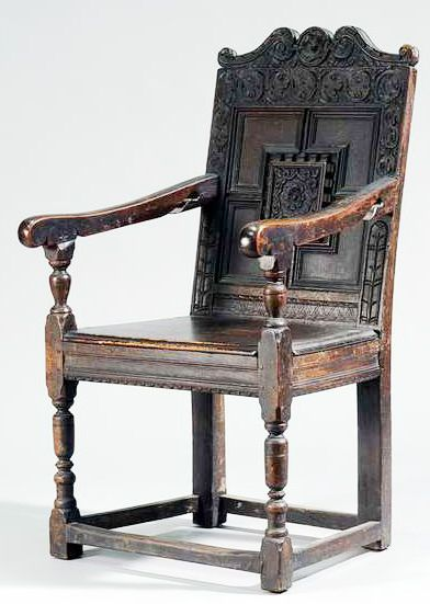 Jacobean Chair Chair Furniture Trestle Table