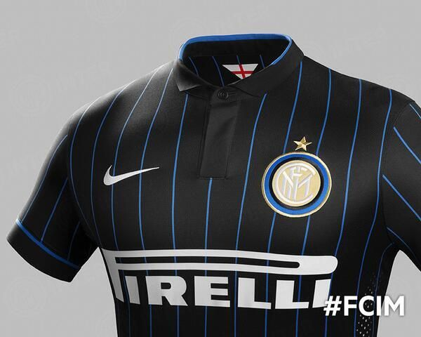 Inter Milan's 2014/15 Home Kit. Delightful, as per usual.