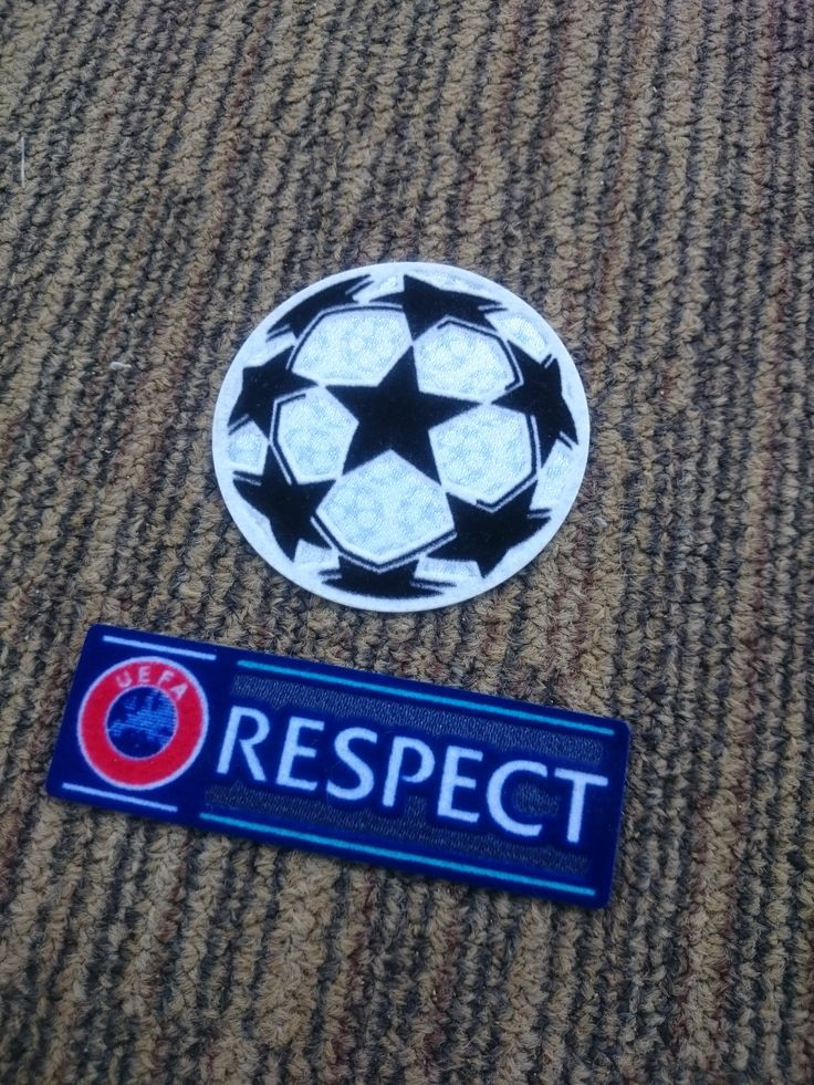 Starball & Respect Uefa Champions League Set Patch