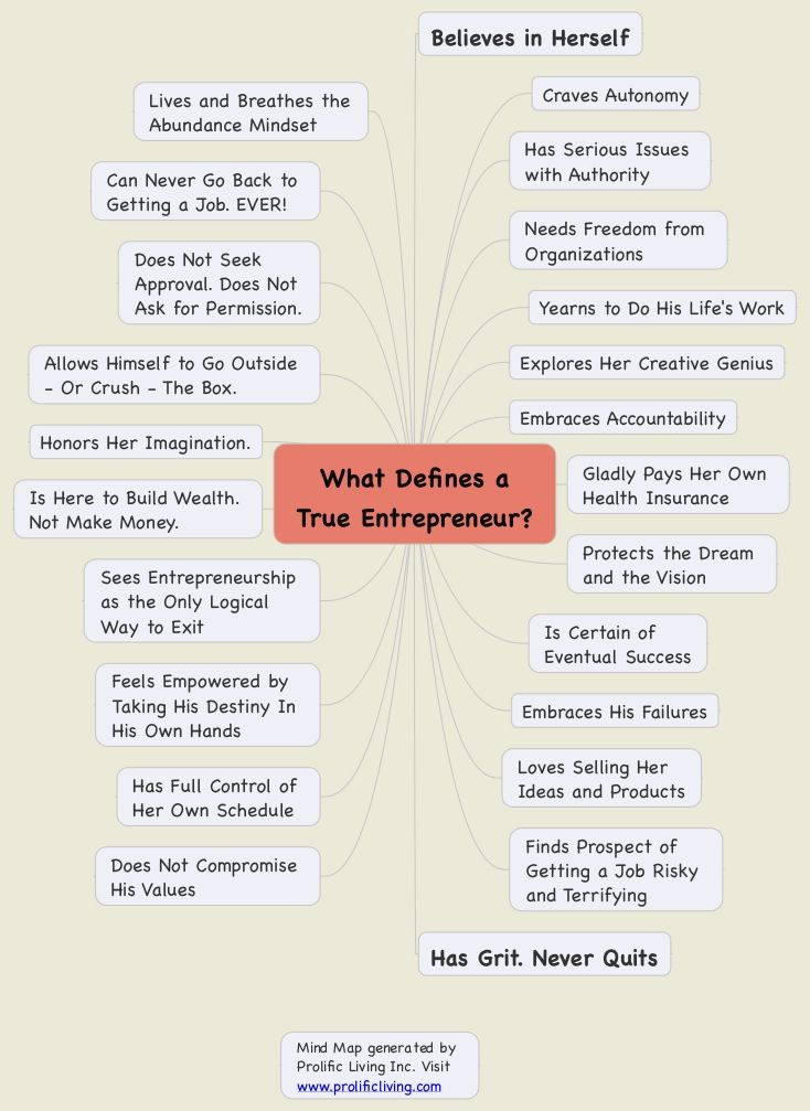 Are you an #entrepreneur or an employee for life? You Decide! I made the drastic change after 11 years. You can too! #mindmap #career