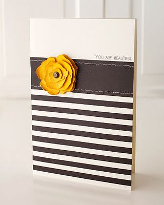 Can you believe this card was inspired by a design on a purse? #CTMH
