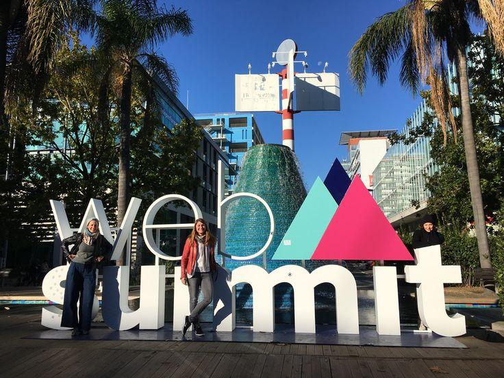"""Ein #UX Erlebnis mit Zukunftsvisionen - das sagen unsere Mädels, die beim #Websummit im Rahmen der """"Women in Tech"""" in #Lissabon dabei aren."""