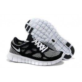Nike Free Run+ 2 Woven Herresko Svart Hvit | billige Nike sko | billige Nike sko på nett | Nike sko nettbutikk norge | ovostore.com