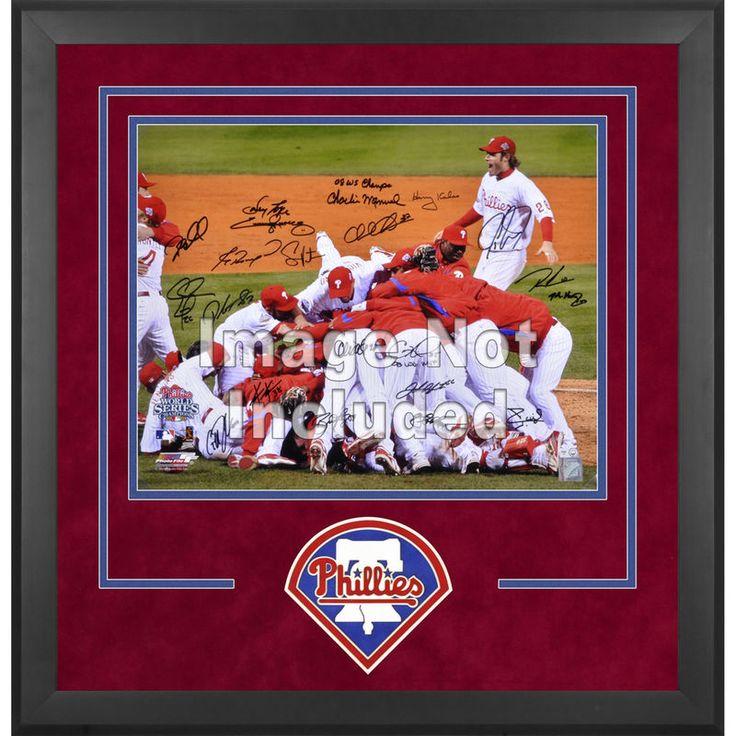 """Philadelphia Phillies Fanatics Authentic 16"""" x 20"""" Deluxe Horizontal Photograph Frame"""