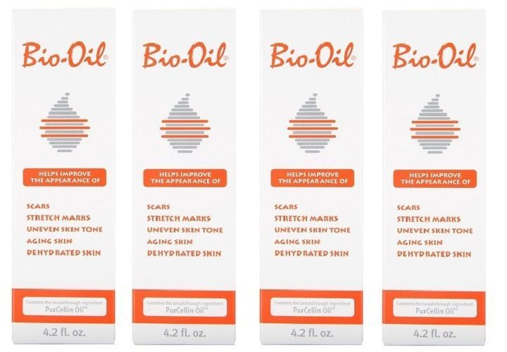 Scar and Stretch Mark Reducers: Bio-Oil With Purcellin Oil Skincare For Scars + Stretch Marks 4.2 Oz (4 Pack) -> BUY IT NOW ONLY: $44.99 on eBay!
