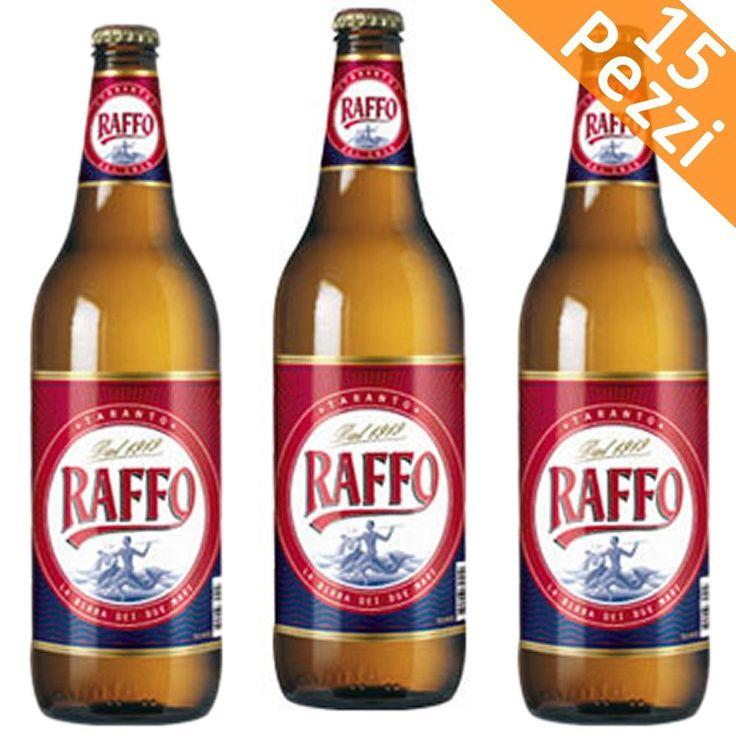 BIRRA RAFFO 15 BOTTIGLIE DA 66 CL BUONITALY  (078208)