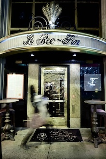 Le Bec-Fin is now just about one month from its rebirth under new owner (and former manager) Nicolas Fanucci.    Fanucci says it will reopen the first week of June.