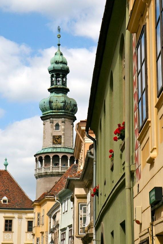 Scene from Sopron  Sopron, Hungary