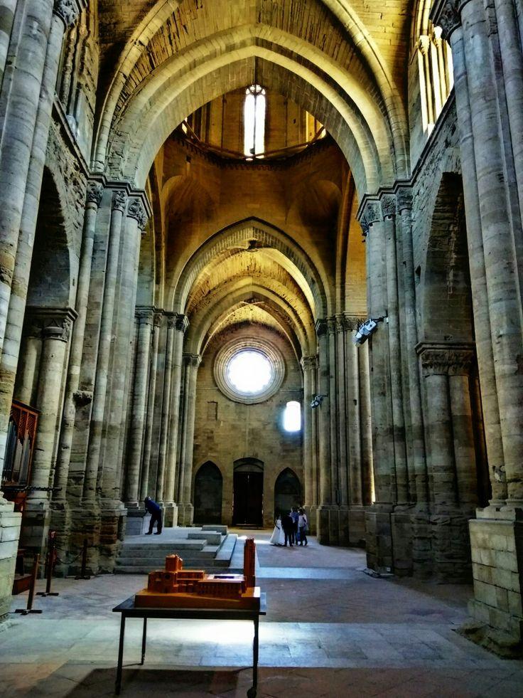 Interior de la Catedral de la Seu Vella, Lérida
