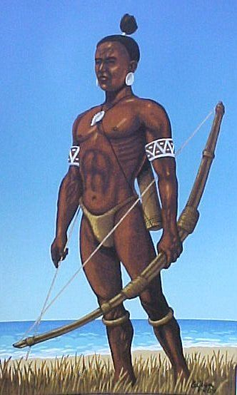 Taino Indians http://historyscoop.com/2012/08/16/columbus-first-impressions-of-native-americans/