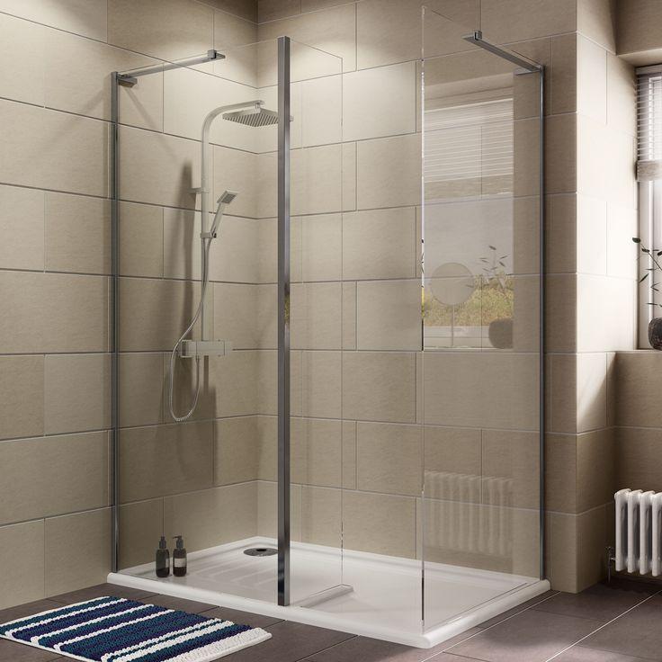25 best ideas about rectangular shower enclosures on for Rectangular bathroom designs