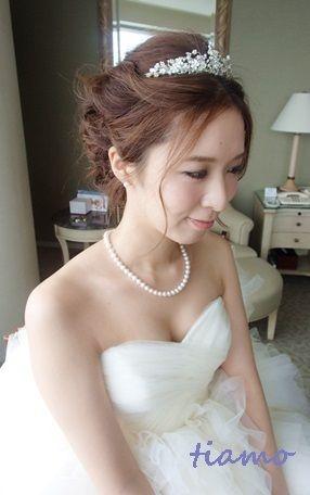 とっても可愛い花嫁さまのこだわりお洒落Wedding♡♡|大人可愛いブライダルヘアメイク『tiamo』の結婚カタログ