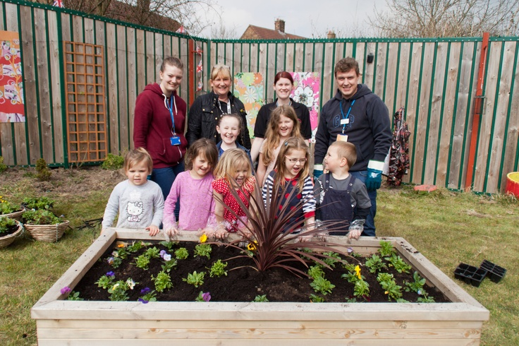 Community coming together for a Dream Scheme at Reeds Road, Huyton
