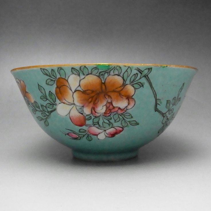 Antique Chinese Porcelain Bowl in Qing #1856 - antique shop CHANO-YU