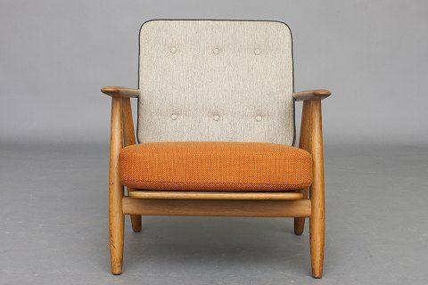 "Pair of Hans Wegner GE 240 ""Cigar chairs"". GORG!!"
