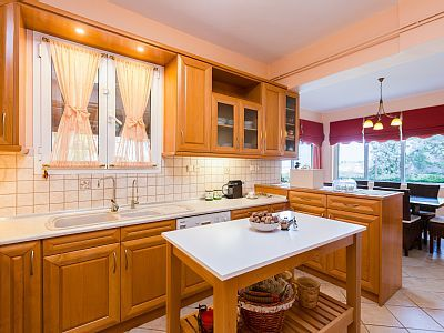 Rethymno villa rental - Fully equipped kitchen for your every needs!