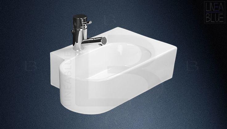 Ceramiczna umywalka nablatowa LINEABLUE S-97