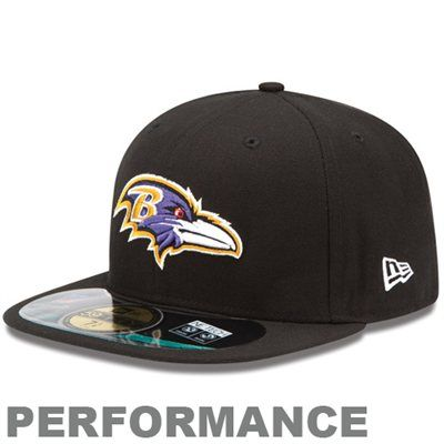 New Era Baltimore Ravens 2013 On-Field Player Sideline Performance 59FIFTY Fitted Hat - Black
