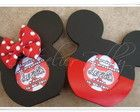 Porta retrato ou recado Mickey/Minnie