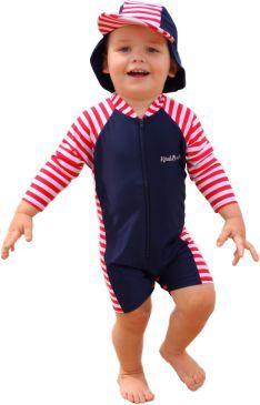 Swimsuit - Long Sleeve: Nautical Mischief