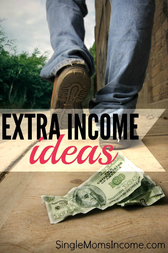 Earning extra income isn't as hard as you think. Here are several different ways you can earn some extra money. Some of these will amount to a little spending money while others can morph into a full time income!