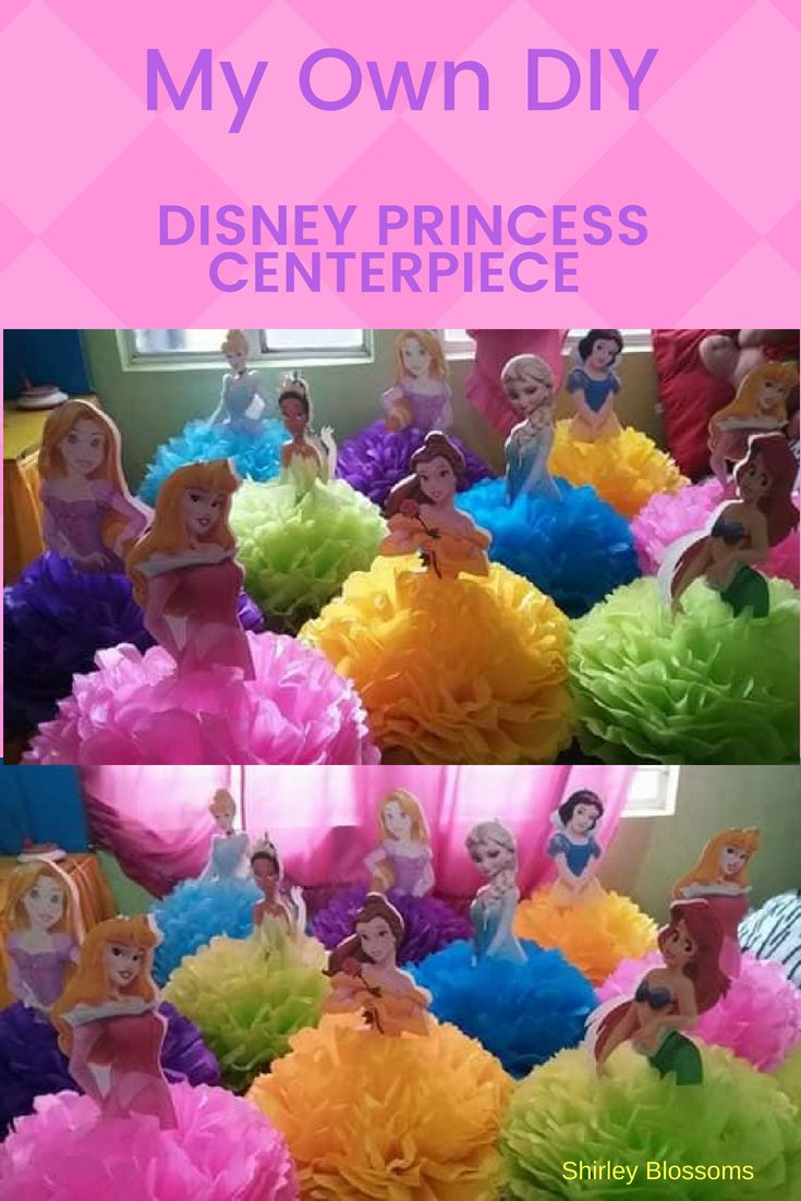 My Own Diy Disney Princess Centerpiece A Perfect Disney