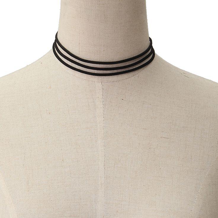 5pcs Lace Line Collar Necklace Combination Collar Choker Set - B - Tmart