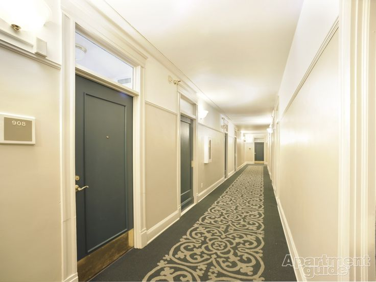 The Burlington Apartments Hallway Colours Hallway