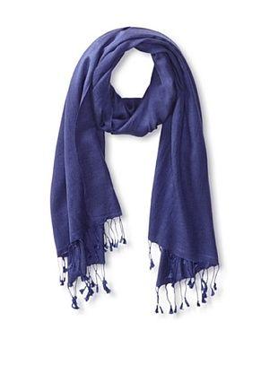 66% OFF Saachi Women's Cashmere/Silk Blend Scarf, Navy